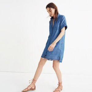 Madewell Courier Drop Hem Dress
